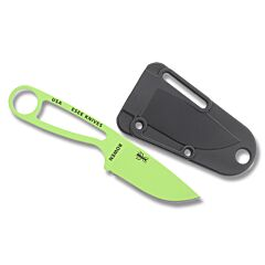 ESEE Izula Venom Green Blade Black Sheath