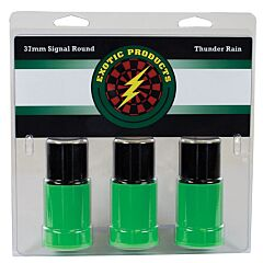 Exotic Thunder Rain 37mm Shotshell Thunderous Sound with Crackling Color 3 Count