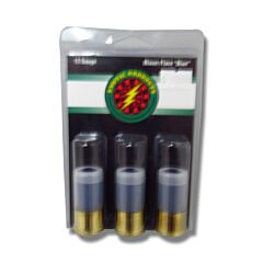 """Exotic Products High Flying Blue Signal Flare 12 Gauge 1-3/4"""" 3 Rounds"""