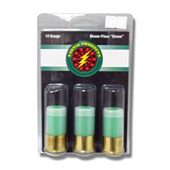 """Exotic Products Green Blazer Signal Flare 12 Gauge 2.75"""" 3 Rounds"""