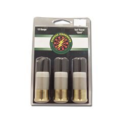 """Exotic Products Tail Tracer Gold 12 Gauge 1-3/4"""" 3 Rounds"""