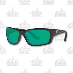 Costa Jose Shiny Black Plastic Sunglasses