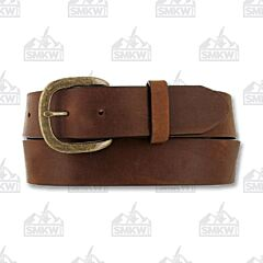 Justin Boots Work Belt Basic Brown