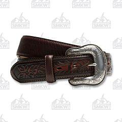 Justin Boots Men's Montana Belt Brown 38