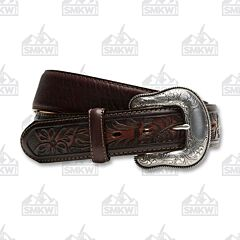 Justin Boots Men's Montana Belt Brown 40