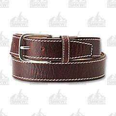 Justin Men's Bison Classic Western Belt Brown