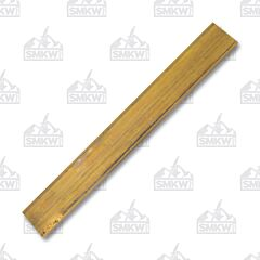 "JANTZ Supplies Brass Barstock .375"" x 1.50"" x 12"" Model CP631"