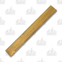 "JANTZ Supplies Brass Barstock .375"" x 1.50"" x 12"" Model CP631"