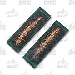 Jantz Supply Green Pine Cone Resin