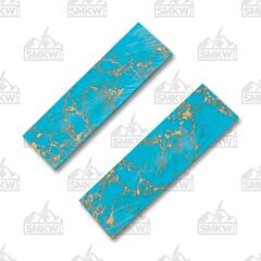 JANTZ Supplies Dark Turquoise Gemstone Composite Slabs Model GT129