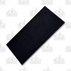 Jantz Black Canvas Micarta Slab