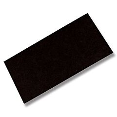 "Black Fiber Spacer Material - 10"" x 5"" x 1/32"""