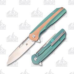 Kansept Shard K1006A6 Green Titanium and Copper