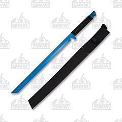 "Neptune Trading Hero's Edge 27"" Blue Ninja Sword"