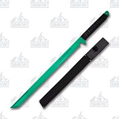 Hero's Edge Tanto Ninja Sword Green