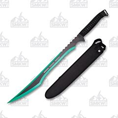 Hero's Edge Ninja Sword with Black Cord Wrapped Handle
