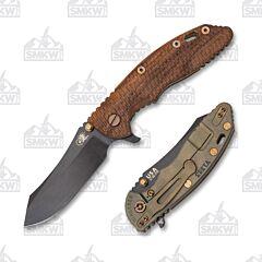 """Hinderer Knives  XM-18 3.5"""" Vintage Skinner Textured"""