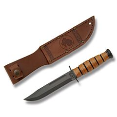 KA-BAR USMC Short Fighting Knife Leather Sheath