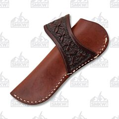 Ranger Belt Company Brown Leather Sheath with Belt Loop