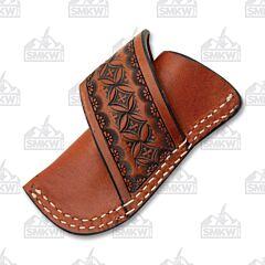 Ranger Belt Company Chestnut Leather Sheath with Belt Loop