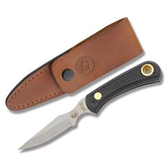 "Knives of Alaska Cub Bear Caper with Suregrip Handles and AUS-8 Stainless Steel 3.25"" Caper Plain Edge Blades Model 006FG"