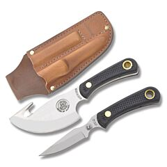 Knives of Alaska Light Hunter Combo with SureGrip Handles and D2 Tool Steel Plain Edge Blades Model 012FG
