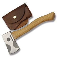 Knives of Alaska Hunters Hatchet with American Hickory Handles and High Carbon S7 Tool Steel Model 070FG