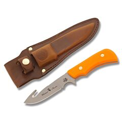 "Knives of Alaska Trekker Series Whitetail Hunter with SureGrip Handles and D2 Tool Steel 4"" Guthook Plain Edge Blades Model 178FG"