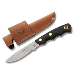 "Knives of Alaska Alpha Wolf with Black SureGrip Handles and D2 3.125"" Drop Point Plain Edge Blades Model 326FG"