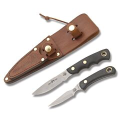 Knives of Alaska Alpha Wolf and Cub Bear Combination Set with SureGrip Handles Model 358FG