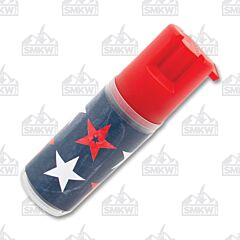 Sabre Patriotic Design Pepper Spray with Key Ring