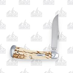 Schorsch Custom Knives Mammoth Ivory Single Blade Trapper