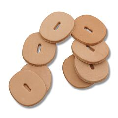 Leather Spacers 8pk
