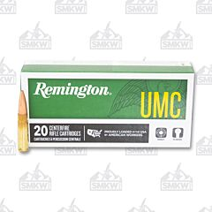 Remington UMC Ammo 300 AAC Blackout 120 Grain Open Tip Flat Base Supersonic 20 Rounds
