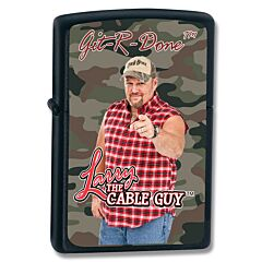 Zippo Larry the Cable Guy Camo Lighter