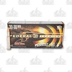 Federal Hammer Down 30-30 Winchester 150 Grain Soft Point 20 Rounds