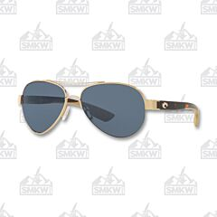 Costa Loreto Aviator Rose Gold Sunglasses