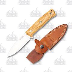 LionSteel B35 UL Olive Wood Handles