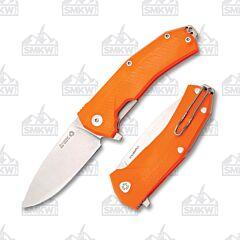lionSTEEL KUR OR Orange G-10 Handles