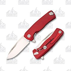 LionSteel ROK Red Aluminum Handles