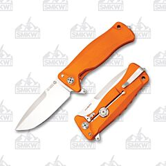 LionSteel SR11A OS Orange Aluminum Handles