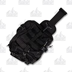 Maxam Black Sling Backpack