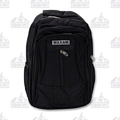 Maxam Executive Black Backpack