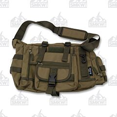 Maxam Extreme Pak OD Green Tactical Style Messenger Bag