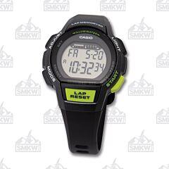 Casio Black and Grey Ladies Runner Series Watch