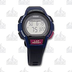 Casio Ladies Black & White Runner Series
