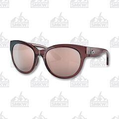 Costa Maya Shiny Urchin Crystal Sunglasses Copper Silver Mirror