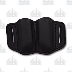 1791 Gunleather Stealth Black Ambidextrous 2.2 Double Stack Double Magazine Holster