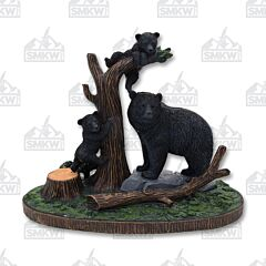 Master Cutlery Bear Display Statue