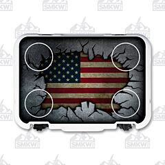Mammoth Cruiser 30 US Flag Cooler